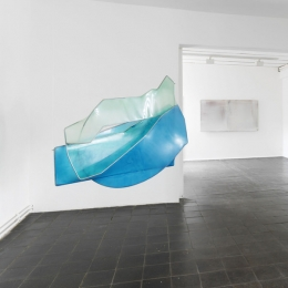 Ausstellungsansicht »Color and Form«, Galerie Robert Drees, 2013