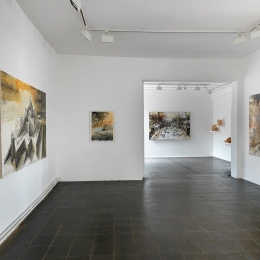 Exhibition View Galerie Robert Drees, June 2018