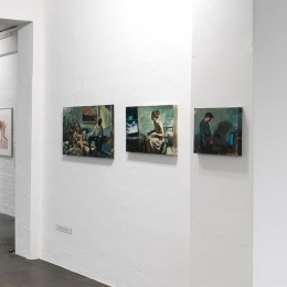 Exhibition View, Galerie Robert Drees 2018