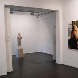 Ausstellungsansicht »Portrait - The View Behind«, Galerie Robert Drees, 2007