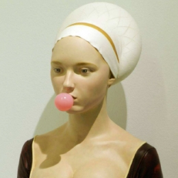 Dama del Chicle (Lady of the Bubblegum)