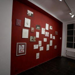 Exhibition View Galerie Robert Drees, 2008
