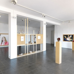 Exhibition View Galerie Robert Drees, 2017