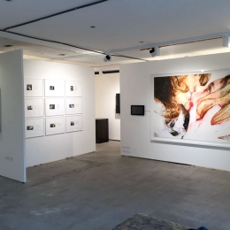 Exhibition View Galerie Robert Drees, Scope Basel 2016