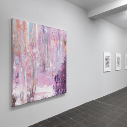 Exhibition View Galerie Robert Drees 2018