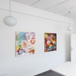 Exhibition View, Galerie Robert Drees, 2018