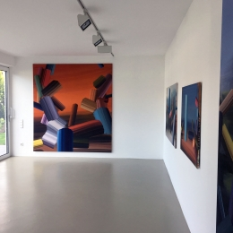 Exhibition View, Haus Harig, Hannover 2019