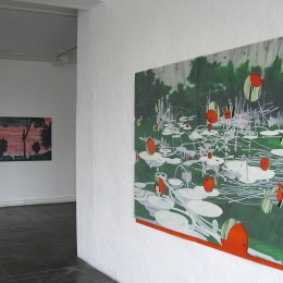 Exhibition View, Galerie Robert Drees, August 2008