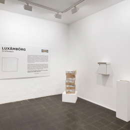 Exhibition View »OUT-LOOK«, Galerie Robert Drees 2018
