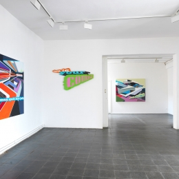 Exhibition View Galerie Robert Drees, 2016