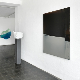 Ausstellungsansicht Color and Form, Galerie Robert Drees, Mai 2013