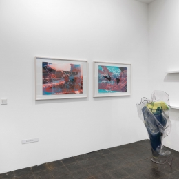 Exhihition View Galerie Robert Drees, 2018