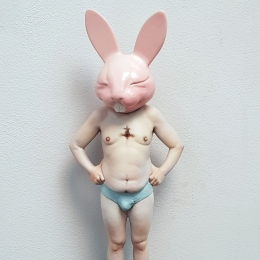 TOY LAND: PINK BUNNY