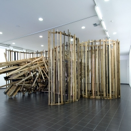 Installationsansicht Marburger Kunstverein, 2008